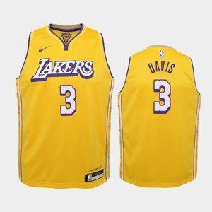 Women Los Angeles Lakers Anthony Davis City Jersey